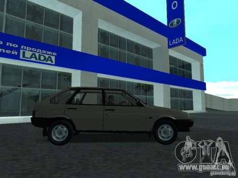 VAZ 2109 CR c. 2 pour GTA San Andreas laissé vue