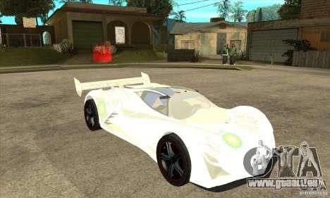 Mazda Furai pour GTA San Andreas vue arrière