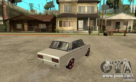 VAZ 2107 réglage optique pour GTA San Andreas vue de droite