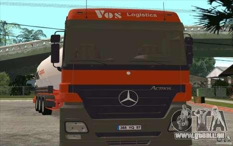 Mercedes-Benz Actros für GTA San Andreas linke Ansicht