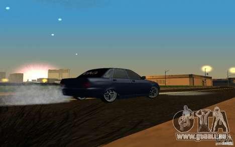 Tuning de voiture LADA PRIORA pour GTA San Andreas vue de droite