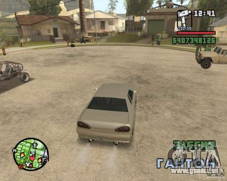 Radar zoom für GTA San Andreas zweiten Screenshot