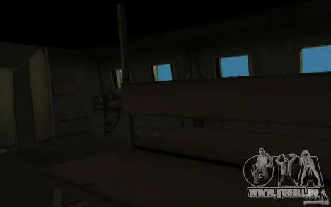 MI-24 A pour GTA San Andreas vue intérieure