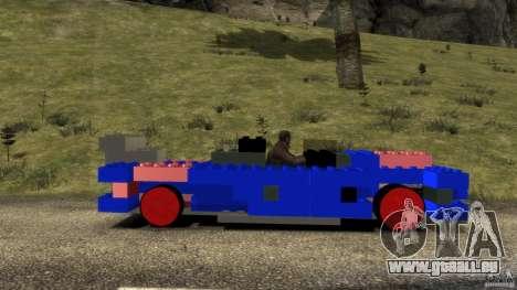 LEGOCAR für GTA 4 linke Ansicht