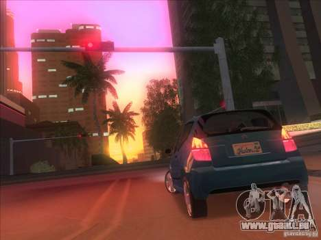 Citroen C2 für GTA San Andreas zurück linke Ansicht