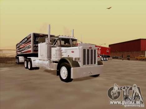 Peterbilt 377 pour GTA San Andreas laissé vue