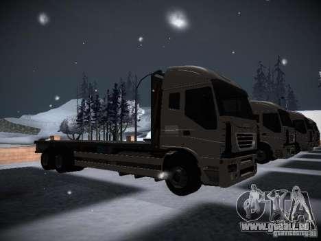 Iveco Stralis Long Truck für GTA San Andreas rechten Ansicht