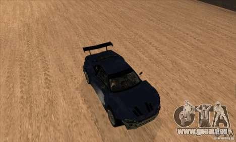 Nissan Skyline R34 GT-R LM für GTA San Andreas obere Ansicht