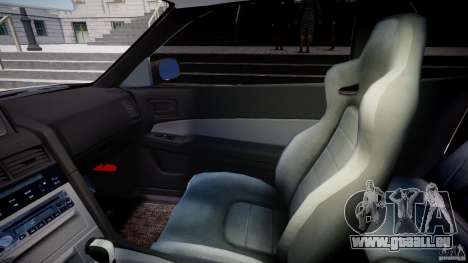 Nissan Skyline GT-R 34 V-Spec pour GTA 4 est une vue de l'intérieur