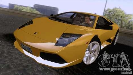 Lamborghini Murcielago LP640 2006 V1.0 pour GTA San Andreas