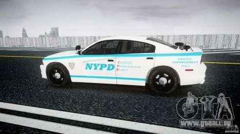 Dodge Charger NYPD 2012 [ELS] pour GTA 4 est une gauche