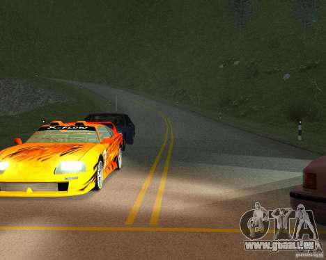 Construction de nouvelles routes à San Fierro pour GTA San Andreas septième écran