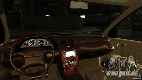 Infiniti I30 A32 Kouki pour GTA San Andreas vue intérieure