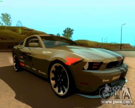 Ford Mustang Boss 302 2011 für GTA San Andreas Motor