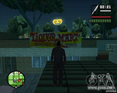 Happy Halloween Mod pour GTA San Andreas troisième écran