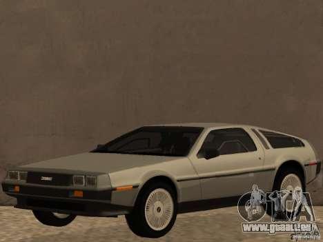 DeLorean DMC-12 für GTA San Andreas
