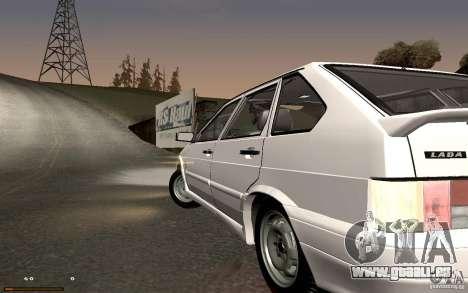 ВАЗ 2114 qualité pour GTA San Andreas laissé vue