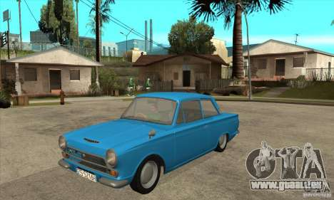 Lotus Cortina Mk1 1963 pour GTA San Andreas