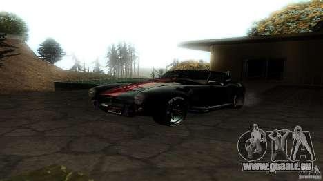 Shelby Cobra Dezent Tuning pour GTA San Andreas