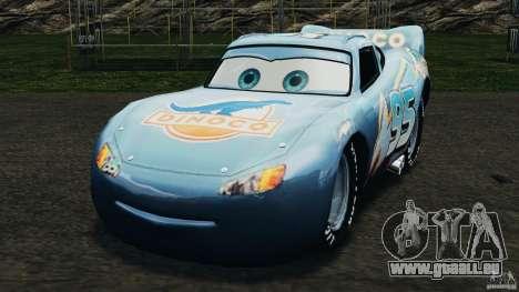 Lightning McQueen Dinoco pour GTA 4