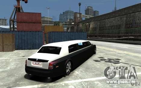Rolls-Royce Phantom Sapphire Limousine v.1.2 pour GTA 4 est un droit
