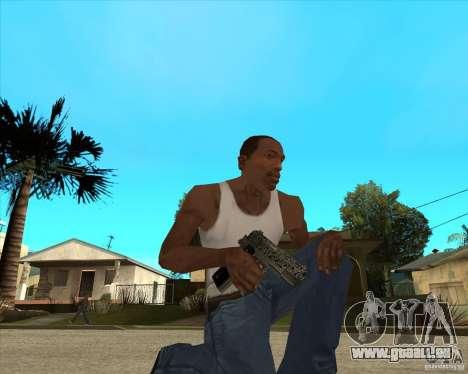 Colt 45 pour GTA San Andreas deuxième écran
