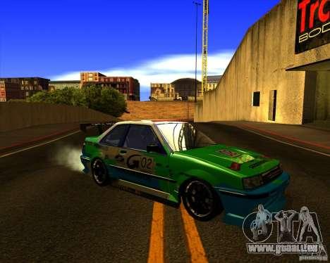 GTA VI Futo GT custom pour GTA San Andreas vue de côté