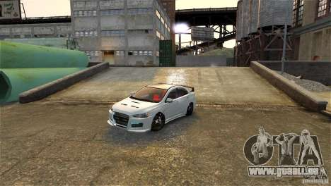 Mitsubishi Lancer Evo X pour GTA 4