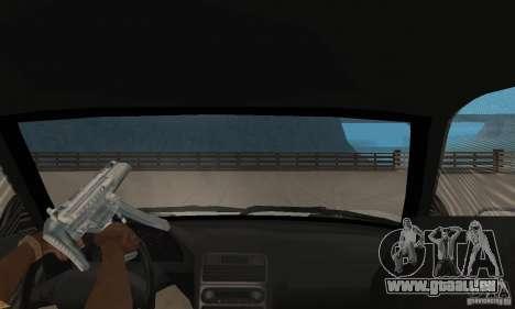 Acura NSX 1991 pour GTA San Andreas vue arrière