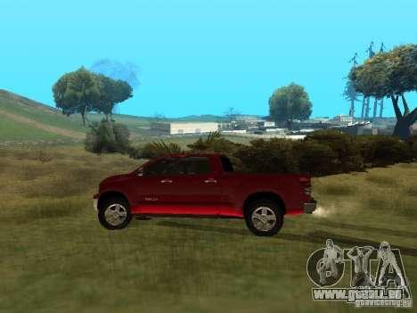 Toyota Tundra 2009 pour GTA San Andreas laissé vue