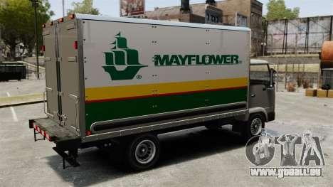 Neue Inserate für den Truck, Mule für GTA 4 rechte Ansicht