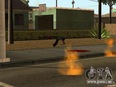 Inländischen Waffen-Version 1.5 für GTA San Andreas achten Screenshot