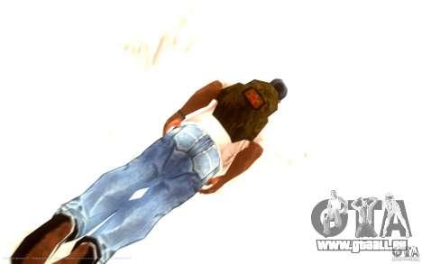 Zatyazhnoj pryzhok 2.0 + longue plongée pour GTA San Andreas quatrième écran