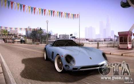 Ferrari 250 GTO 1964 pour GTA San Andreas vue intérieure