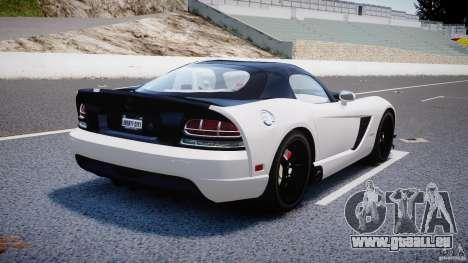 Dodge Viper SRT-10 ACR 2009 v2.0 [EPM] für GTA 4 obere Ansicht