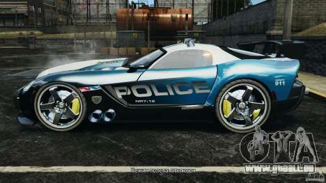 Dodge Viper SRT-10 ACR ELITE POLICE für GTA 4 linke Ansicht