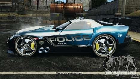 Dodge Viper SRT-10 ACR ELITE POLICE für GTA 4 linke Ansicht