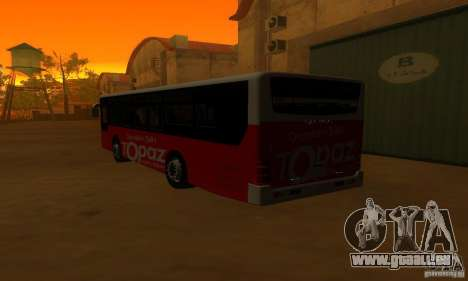 Daewoo Bus BC211MA pour GTA San Andreas vue de droite