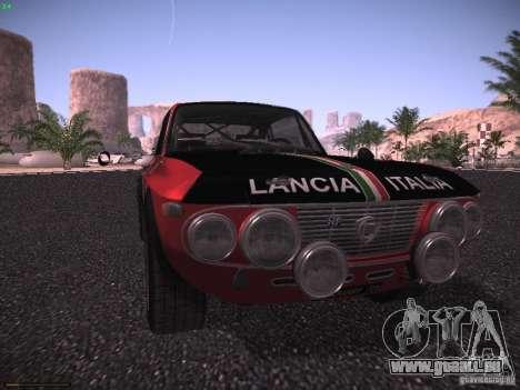 Lancia Fulvia Rally für GTA San Andreas rechten Ansicht