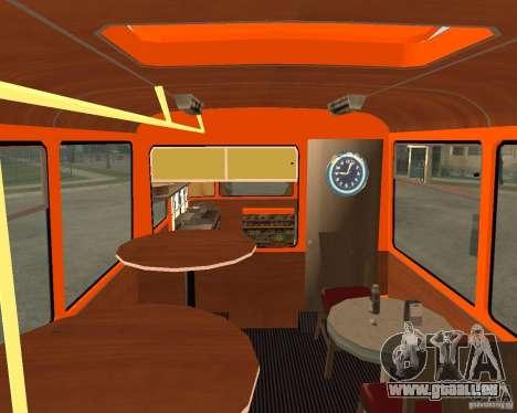 LIAZ-677 (moment de Café) pour GTA San Andreas laissé vue