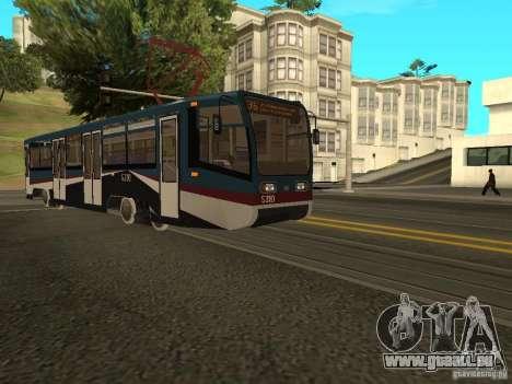Die neue Straßenbahn für GTA San Andreas dritten Screenshot