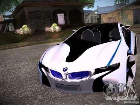 BMW Vision Efficient Dynamics I8 für GTA San Andreas linke Ansicht