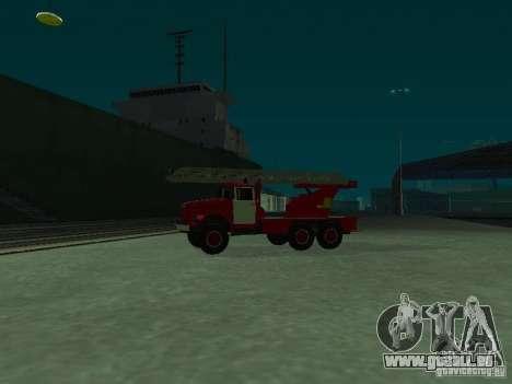 ZIL 131 Al-30 für GTA San Andreas linke Ansicht