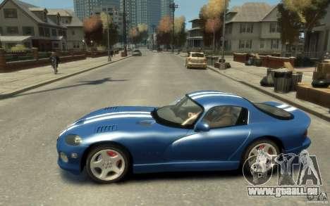 Dodge Viper GTS pour GTA 4 est une gauche