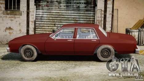 Chevrolet Impala 1983 v2.0 pour GTA 4 est un côté