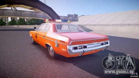 AMC Matador Hazzard County Sheriff [ELS] pour GTA 4 Vue arrière de la gauche