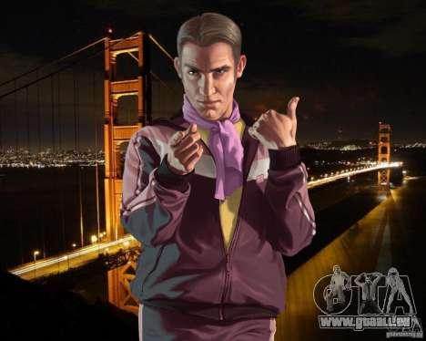 Écran de démarrage à San Francisco pour GTA 4 cinquième écran