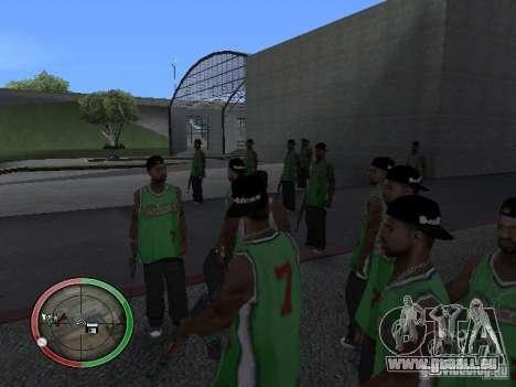 Les gens de la pluie pour GTA San Andreas deuxième écran