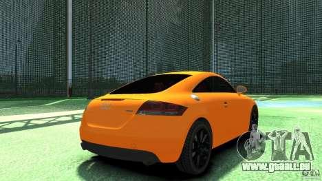 Audi TT Stock 2007 für GTA 4 hinten links Ansicht