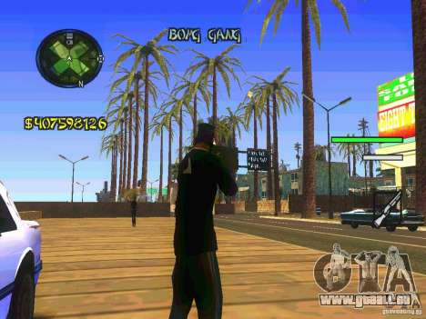 HUD Convenient and easy BETA für GTA San Andreas zweiten Screenshot